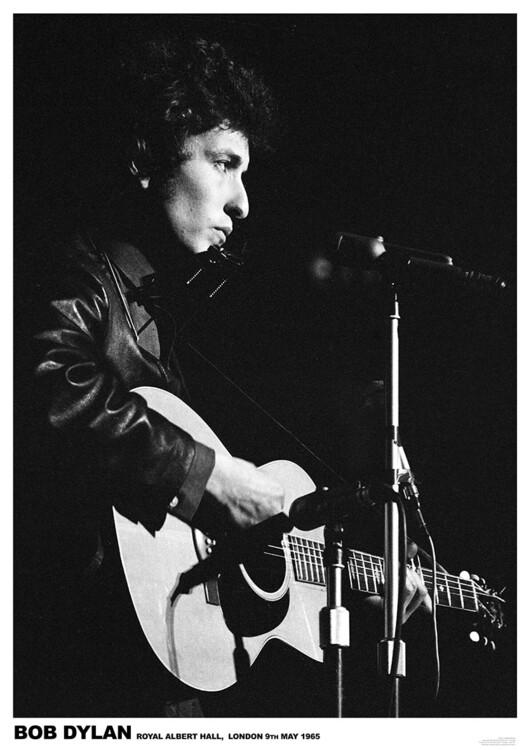 Juliste Bob Dylan - Royal Albert Hall