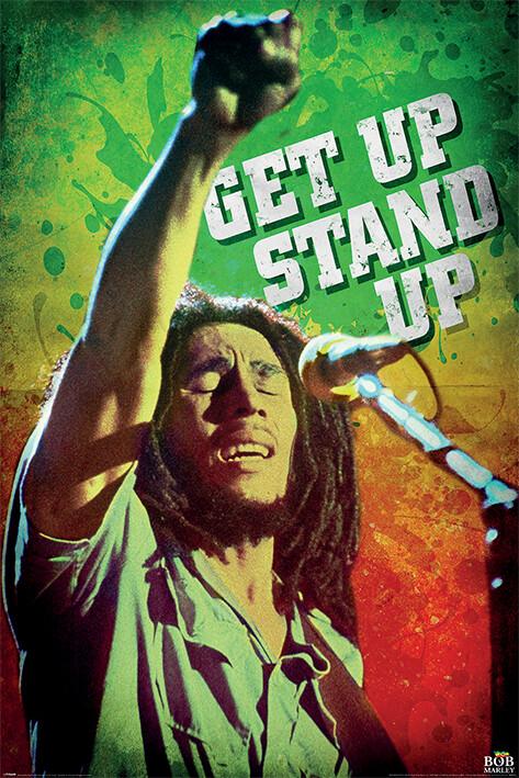Juliste Bob Marley - Get Up Stand Up