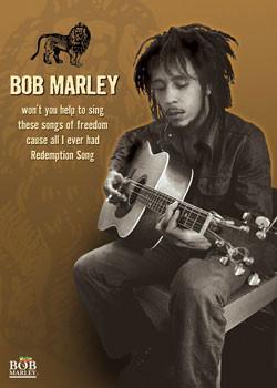 Juliste Bob Marley - guitar