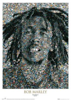 Juliste Bob Marley - mosaic II.