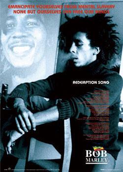 Juliste Bob Marley - Redemption song