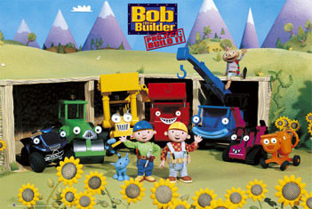 Juliste BOB THE BUILDER - sunflowers