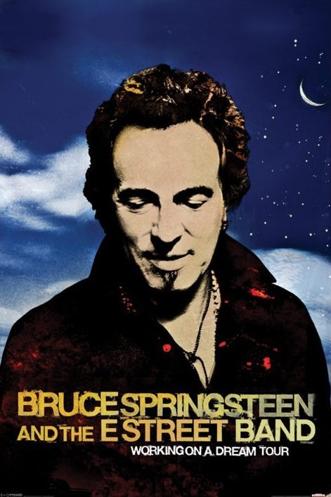 Juliste Bruce Springsteen - workin on