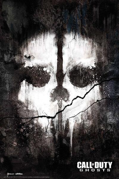 Juliste  Call of Duty Ghosts - skull