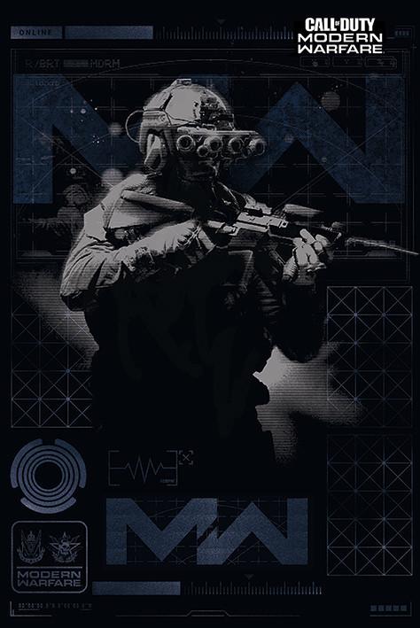 Juliste Call of Duty: Modern Warfare - Elite