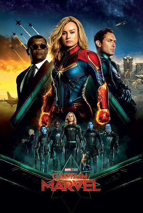 Juliste  Captain Marvel - Epic