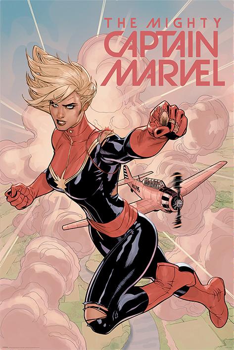 Juliste  Captain Marvel - Flight