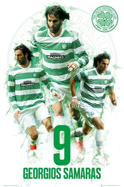 Juliste Celtic - Georgios Samaras