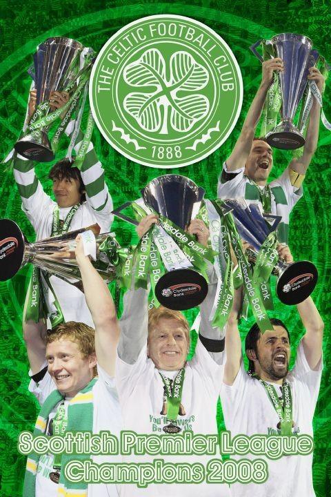 Juliste Celtic - spl champs 07/08