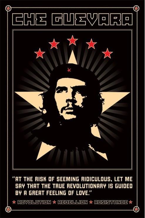 Juliste Che Guevara - odolnost