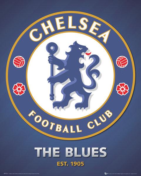 Juliste Chelsea FC - club crest