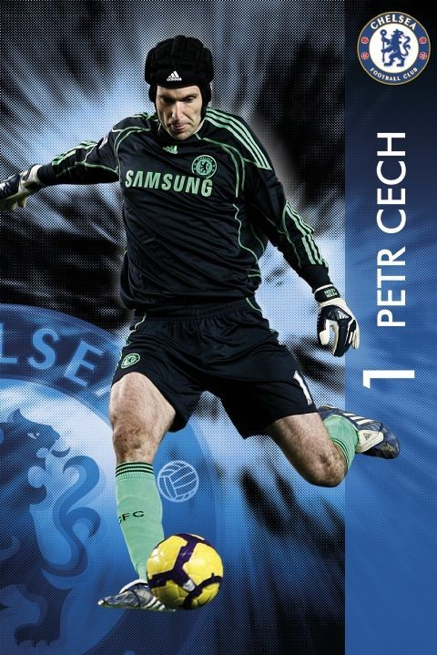 Juliste Chelsea - Petr Čech
