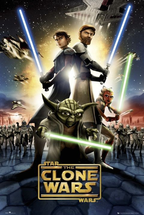 Juliste CLONE WARS - one sheet