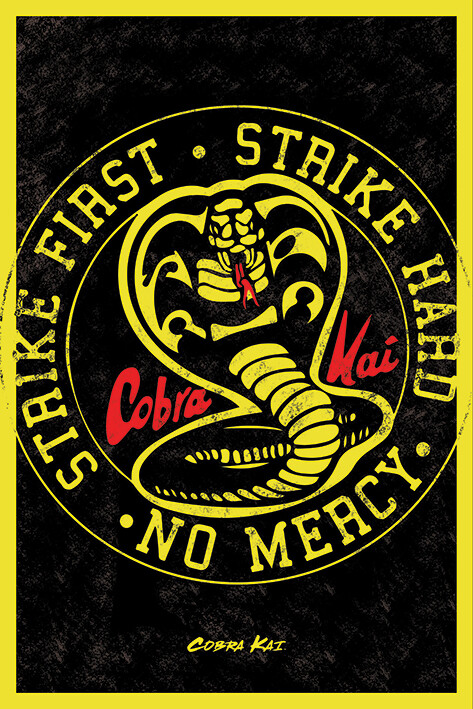 Juliste Cobra Kai - Emblem