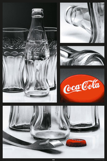 Juliste Coca Cola - Photo comp