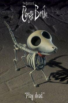 Juliste Corpse bride - dog