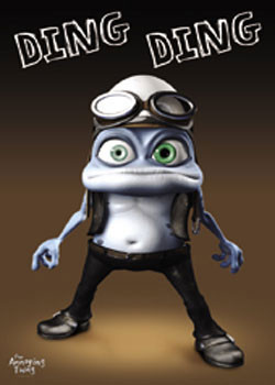 Juliste Crazy Frog - Ding Ding