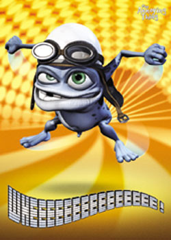 Juliste Crazy Frog - Lights