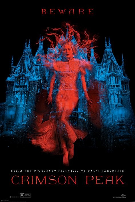 Juliste Crimson Peak - Teaser
