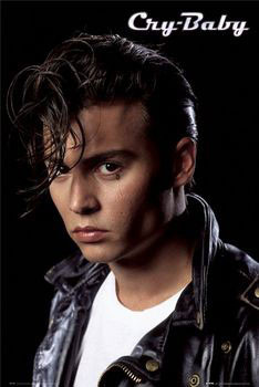 Juliste CRY BABY - Depp portrait