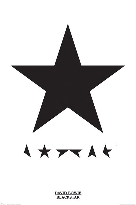 Juliste David Bowie - Blackstar