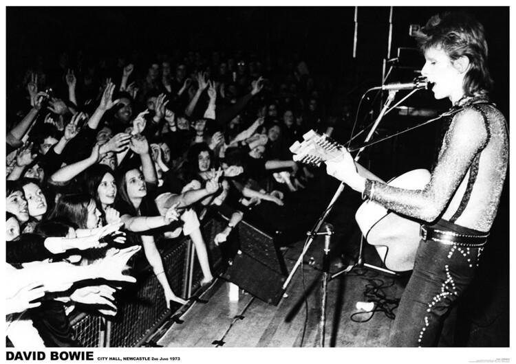 Juliste David Bowie - Newcastle 1972