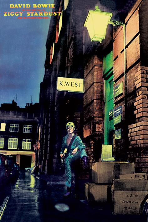 Juliste David Bowie - ziggy stardust