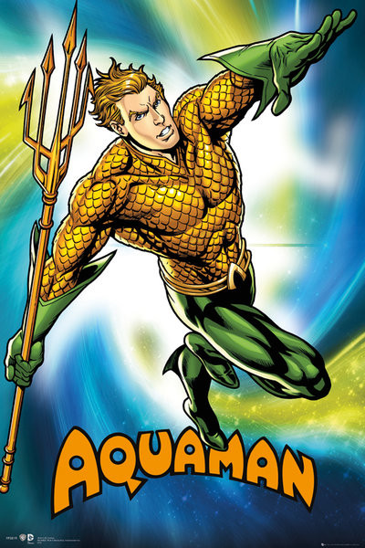 Juliste DC Comics - Aquaman