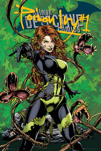 Juliste DC Comics - Poison Ivy