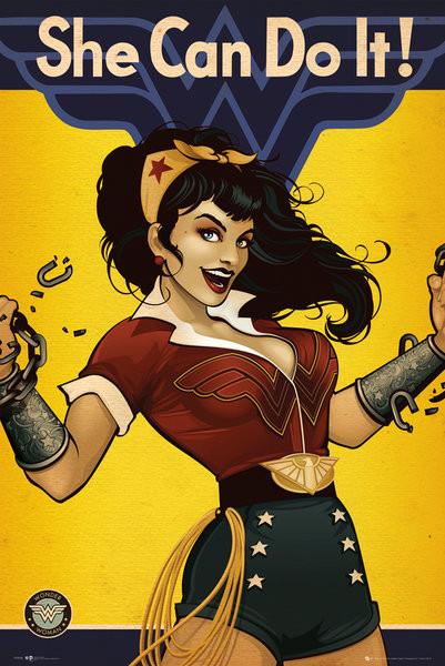 Juliste  DC Comics - Wonder Woman Bombshell