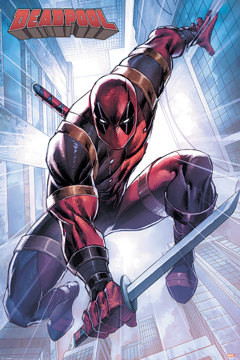 Juliste  Deadpool - Action Pose