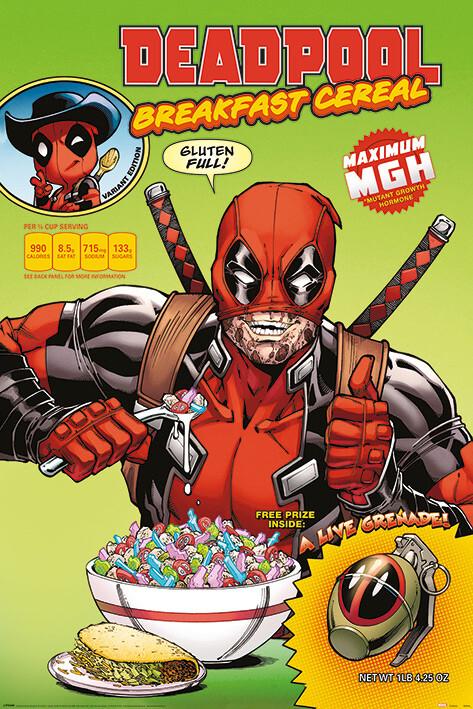 Juliste Deadpool - Cereal