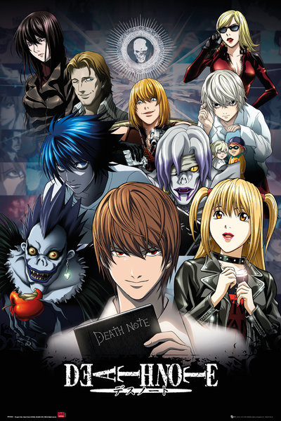 Juliste Death Note - Collage