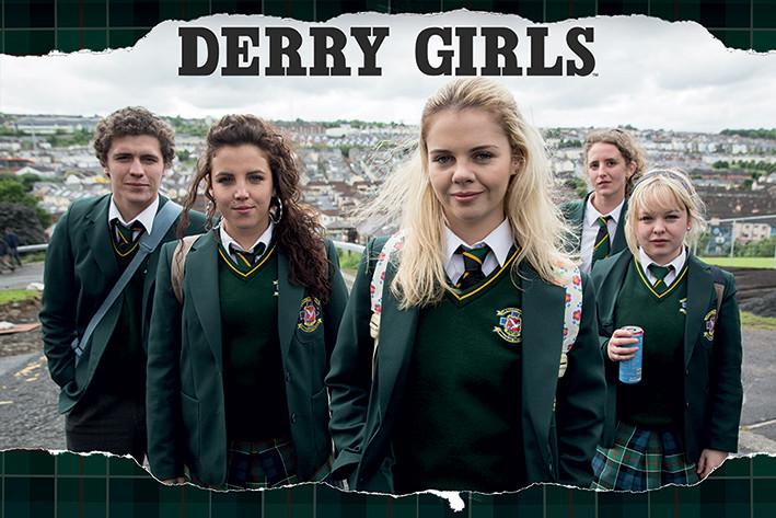 Juliste Derry Girls - Rip