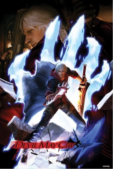Juliste Devil may cry 4