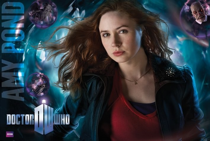 Juliste DOCTOR WHO - amy pond