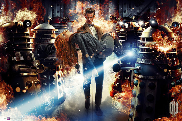 Juliste DOCTOR WHO - asylum of daleks