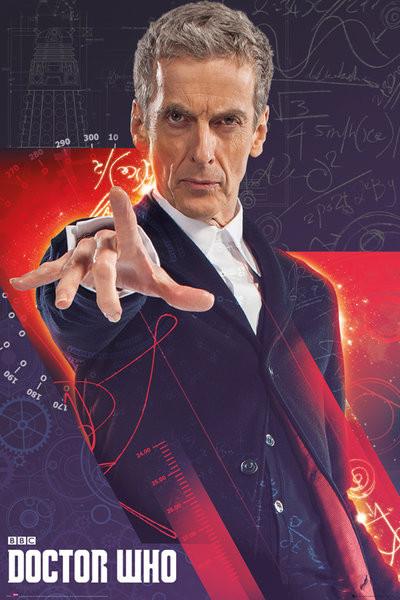 Juliste Doctor Who - Capaldi