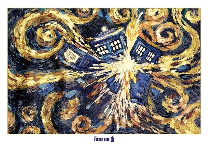 Juliste DOCTOR WHO - exploding tardis