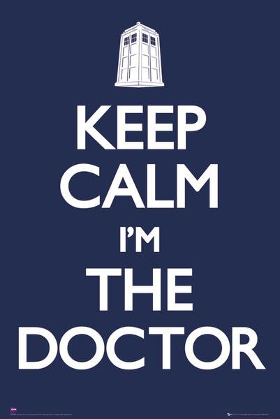 Juliste Doctor Who - Keep calm