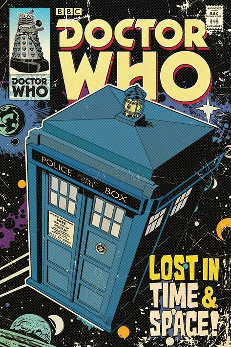 Juliste Doctor Who - Lost in Time & Space
