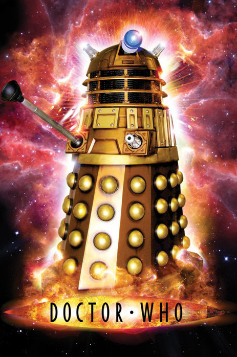 Juliste DR. WHO - dalek