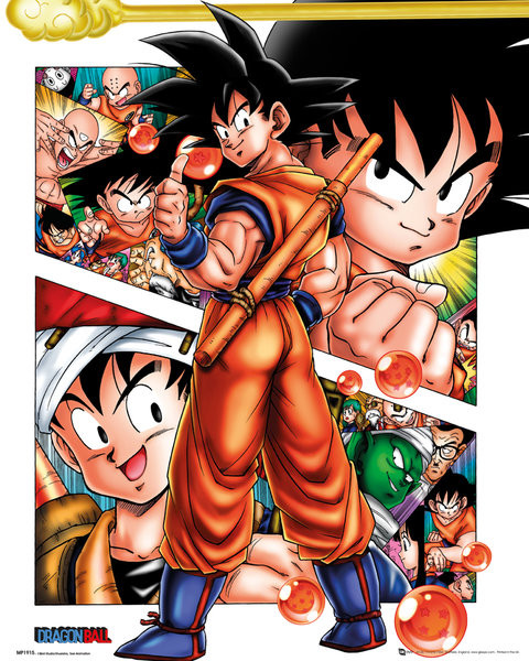 Juliste Dragon Ball - Collage