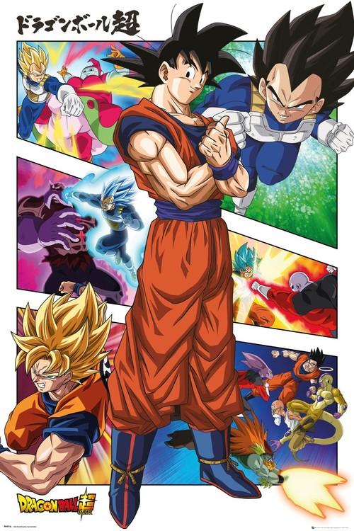 Juliste Dragon Ball - Panels
