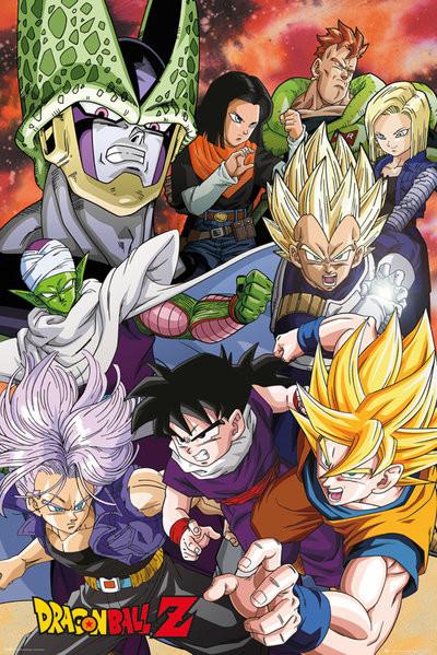 Juliste Dragon Ball Z - Cell Saga