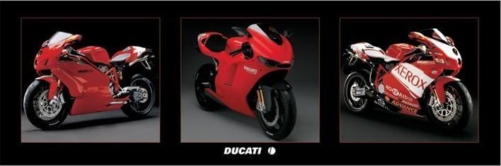 Juliste Ducati - bikes