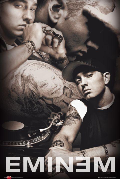 Juliste Eminem - collage Bravado