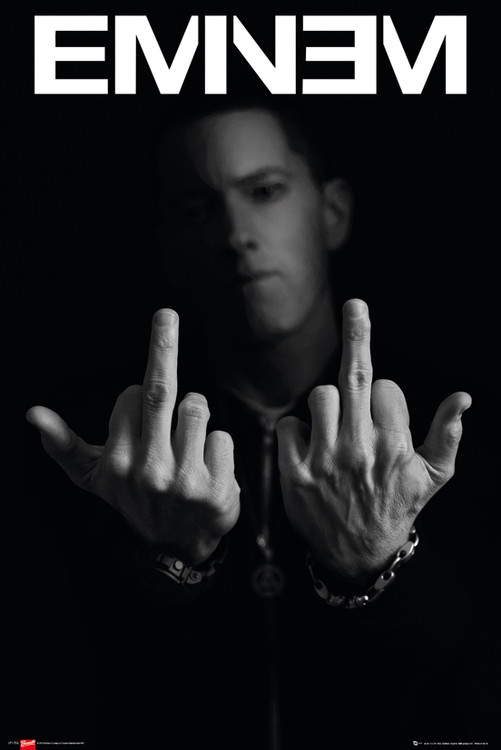 Juliste  Eminem - fingers