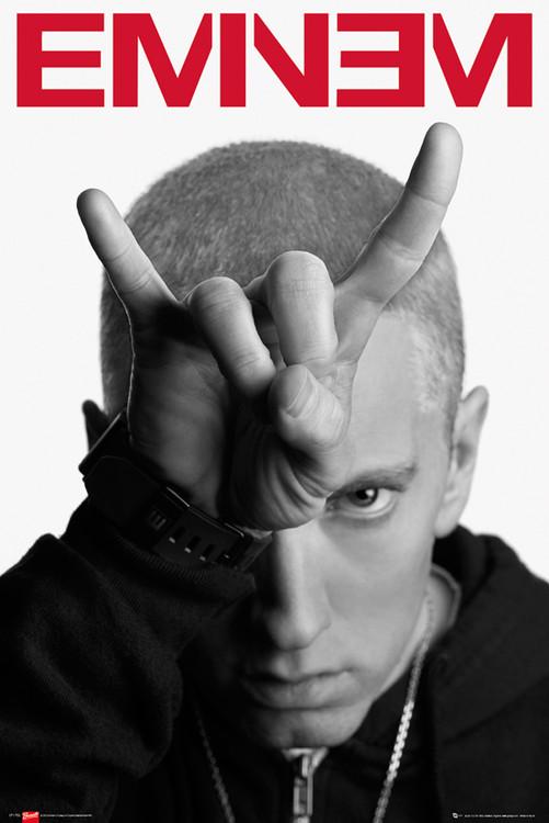 Juliste Eminem - horns