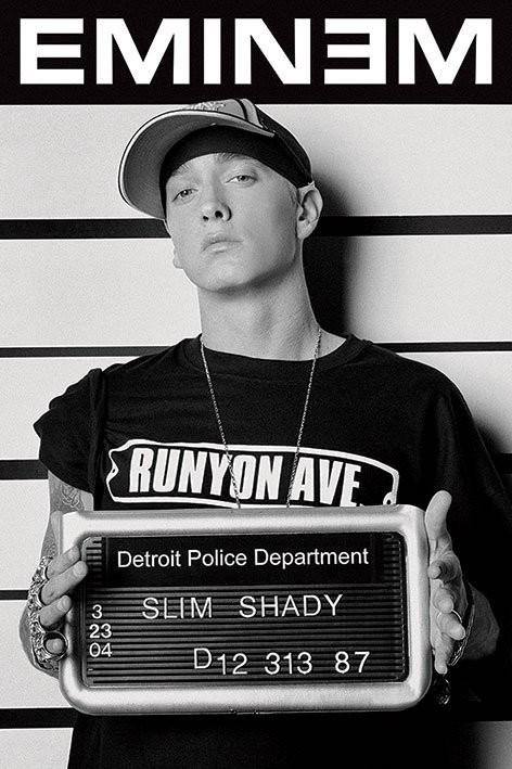 Juliste Eminem - mugshot